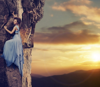 Fancy Mountain Climbing - Obrázkek zdarma pro iPad