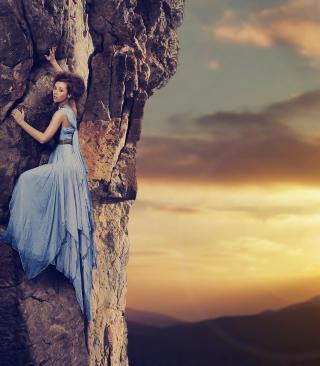 Fancy Mountain Climbing - Obrázkek zdarma pro iPhone 5C