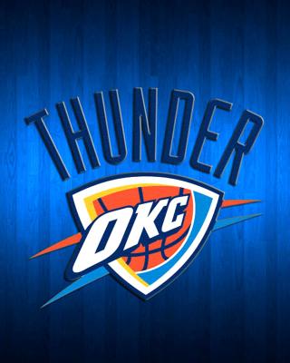 Oklahoma City Thunder - Obrázkek zdarma pro iPhone 6 Plus