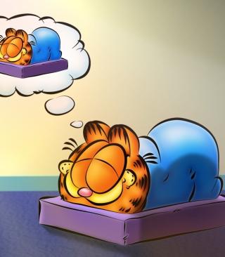 Garfield Sleep - Obrázkek zdarma pro Nokia C1-00