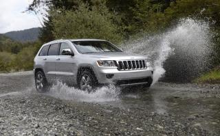 Jeep Grand Cherokee - Obrázkek zdarma pro Samsung Galaxy A3