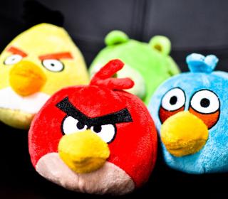Angry Birds Plush Toy - Obrázkek zdarma pro iPad
