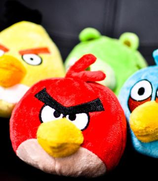 Angry Birds Plush Toy - Obrázkek zdarma pro 176x220