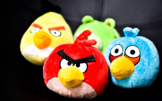 Angry Birds Plush Toy Picture for Android, iPhone and iPad
