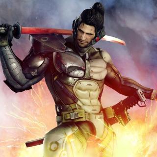 Metal Gear Rising Revengeance - Obrázkek zdarma pro iPad