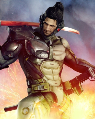 Metal Gear Rising Revengeance - Obrázkek zdarma pro 132x176