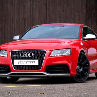 Audi RS5 Red - Obrázkek zdarma pro iPad mini 2
