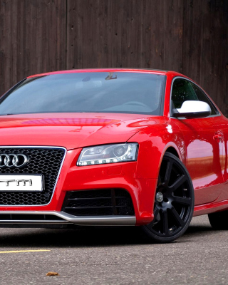 Audi RS5 Red - Obrázkek zdarma pro 360x400