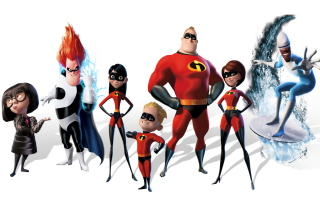 The Incredibles - Obrázkek zdarma pro Widescreen Desktop PC 1280x800