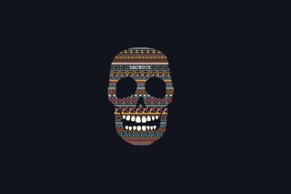 Funny Skull Wallpaper for Android, iPhone and iPad