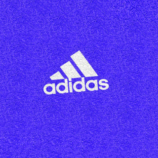 Adidas Blue Logo - Obrázkek zdarma pro iPad 3