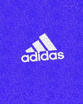Adidas Blue Logo - Obrázkek zdarma pro iPhone 4