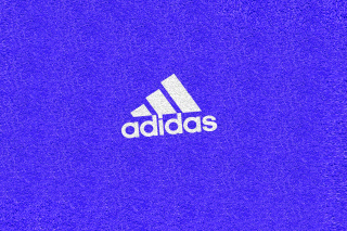 Adidas Blue Logo Background for Android, iPhone and iPad