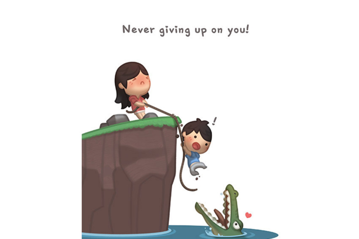 Love Never Gives Up Wallpaper Iphone : Love Is - Never giving up on you Wallpaper for Android ...