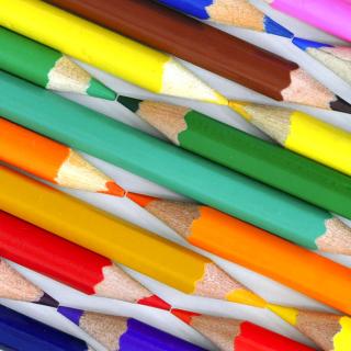 Colored Pencils - Obrázkek zdarma pro iPad mini 2
