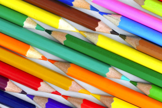 Colored Pencils - Obrázkek zdarma pro Fullscreen Desktop 1024x768