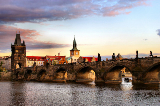 Free Charles Bridge In Prague Picture for Android, iPhone and iPad