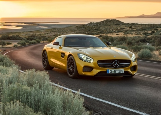 Free Mercedes AMG GT Picture for Android, iPhone and iPad
