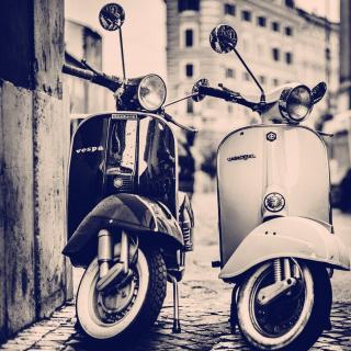 Vespa Scooter - Obrázkek zdarma pro 128x128