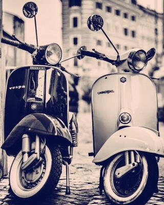 Vespa Scooter - Obrázkek zdarma pro 480x854
