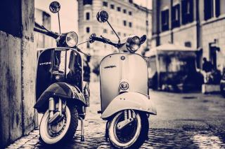 Vespa Scooter - Obrázkek zdarma pro Android 1200x1024
