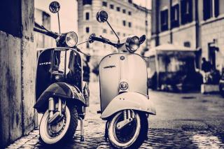 Vespa Scooter - Obrázkek zdarma pro Fullscreen 1152x864