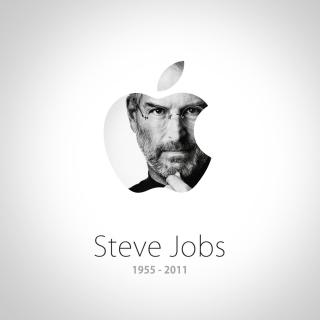 Steve Jobs Apple - Obrázkek zdarma pro 320x320