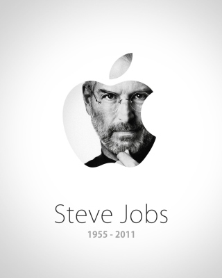 Steve Jobs Apple - Obrázkek zdarma pro 240x320