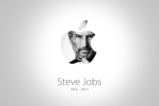 Steve Jobs Apple - Obrázkek zdarma pro Motorola DROID