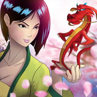 Mulan - Obrázkek zdarma pro iPad mini 2