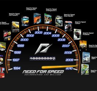 NFS SpeedoTimeline - Obrázkek zdarma pro 2048x2048