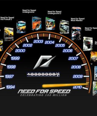NFS SpeedoTimeline - Obrázkek zdarma pro 176x220