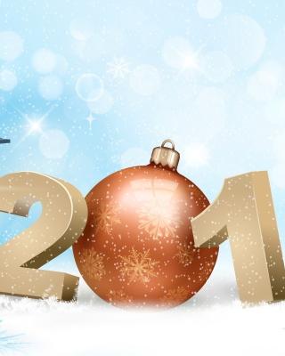 2017 New Year - Obrázkek zdarma pro Nokia Asha 303