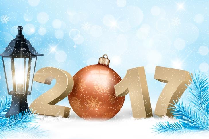 2017 New Year wallpaper
