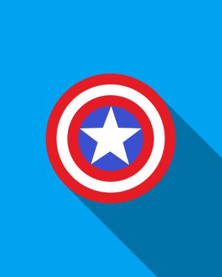 Captain America - Obrázkek zdarma pro Nokia X1-00