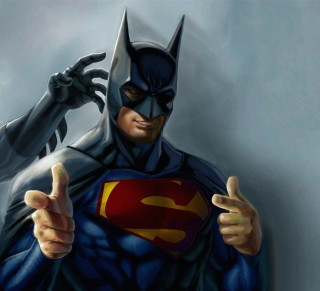 Super Batman - Obrázkek zdarma pro iPad 2