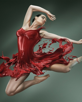 Ballerina Jump - Obrázkek zdarma pro Nokia Asha 203