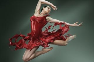 Ballerina Jump - Obrázkek zdarma pro Android 600x1024
