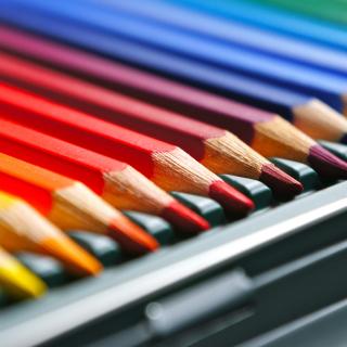 Coloured Pencils - Obrázkek zdarma pro iPad Air