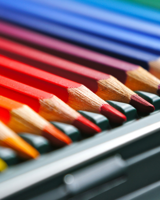 Coloured Pencils - Fondos de pantalla gratis para Samsung GT-S5230 Star