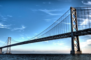 Free Bay Bridge Picture for Android, iPhone and iPad