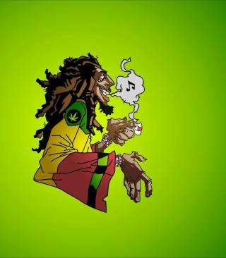 Bob Marley - Obrázkek zdarma pro Nokia Asha 308
