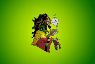 Bob Marley - Obrázkek zdarma pro Samsung Galaxy S6 Active