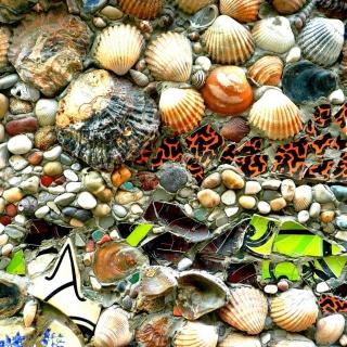 Shells and Pebbles - Obrázkek zdarma pro iPad mini
