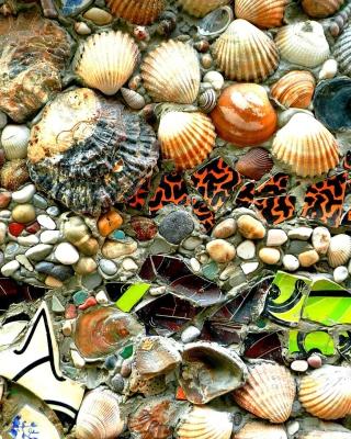 Shells and Pebbles - Obrázkek zdarma pro Nokia Asha 300