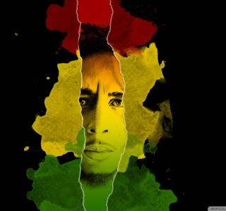 Bob Marley - Obrázkek zdarma pro 1024x1024