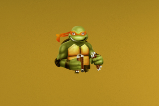 Ninja Turtle Background for Android, iPhone and iPad