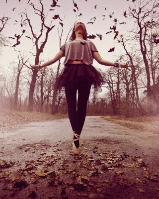 Autumn Ballet Dance - Obrázkek zdarma pro Nokia Asha 503