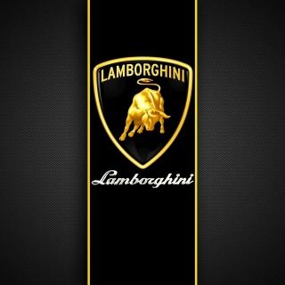 Lamborghini Logo - Obrázkek zdarma pro 320x320