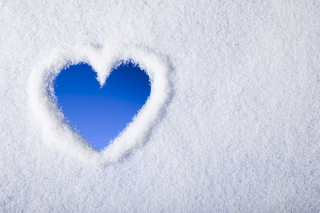 Winter Heart Picture for Android, iPhone and iPad
